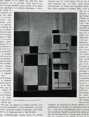 Piet Mondrian_Vue d'Atelier_1910